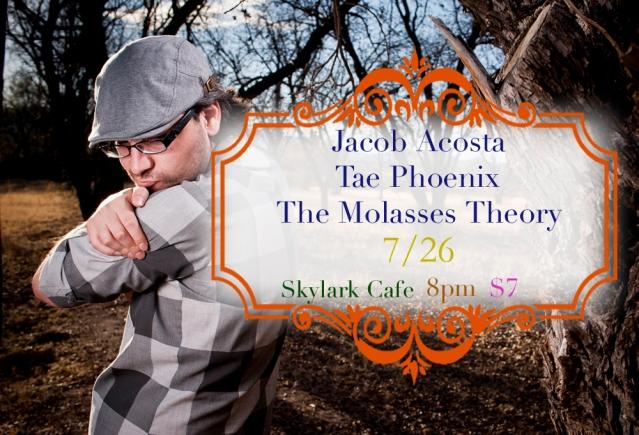 Jacob Acosta Tour digital flyer 7-26